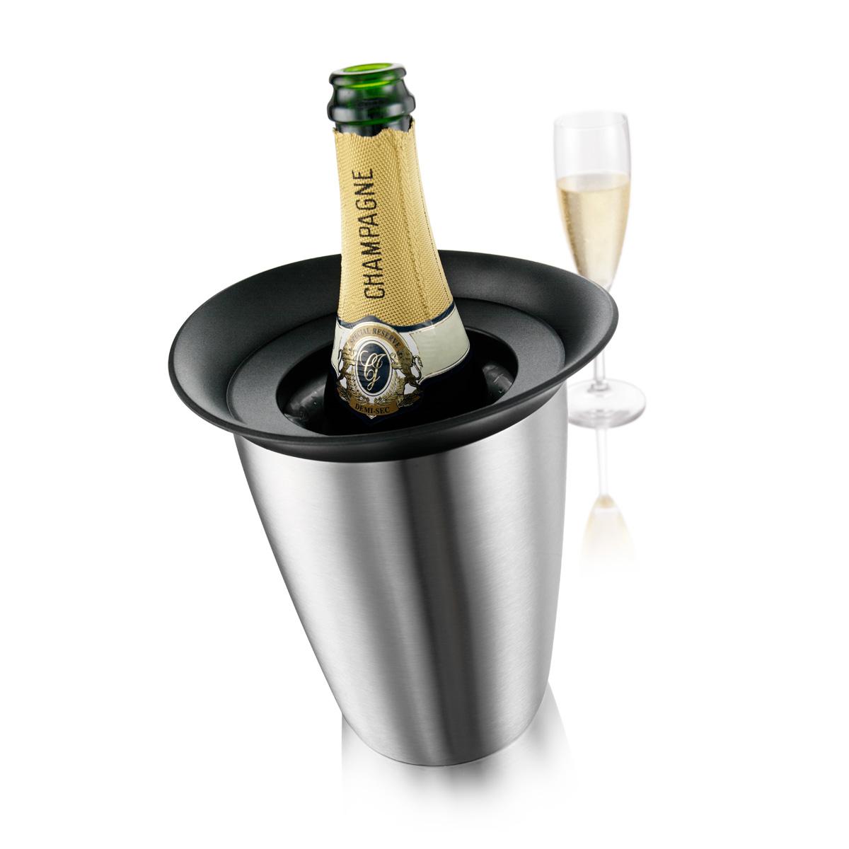 VV3647360 Vacu Vin Active Cooler Champagne Elegant Stainless Steel