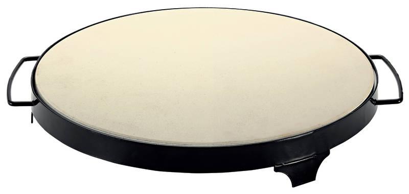 Avanti BBQ Pizza Stone 38cm with Rack sh/12293