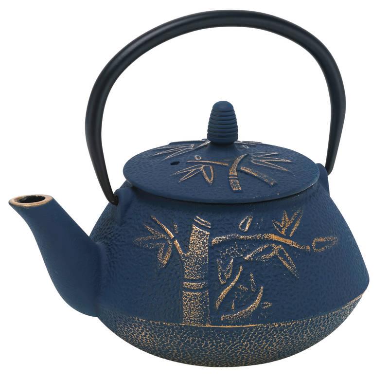 Avanti Bamboo Cast Iron Teapot sh/15192