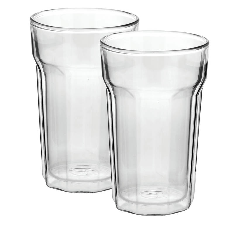 Nove Twin Wall Glass Set of 2 sh/15405