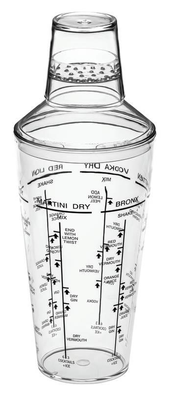 Avanti Acrylic Cocktail Shaker 700ml sh/16702