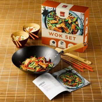 dexam school of wok set