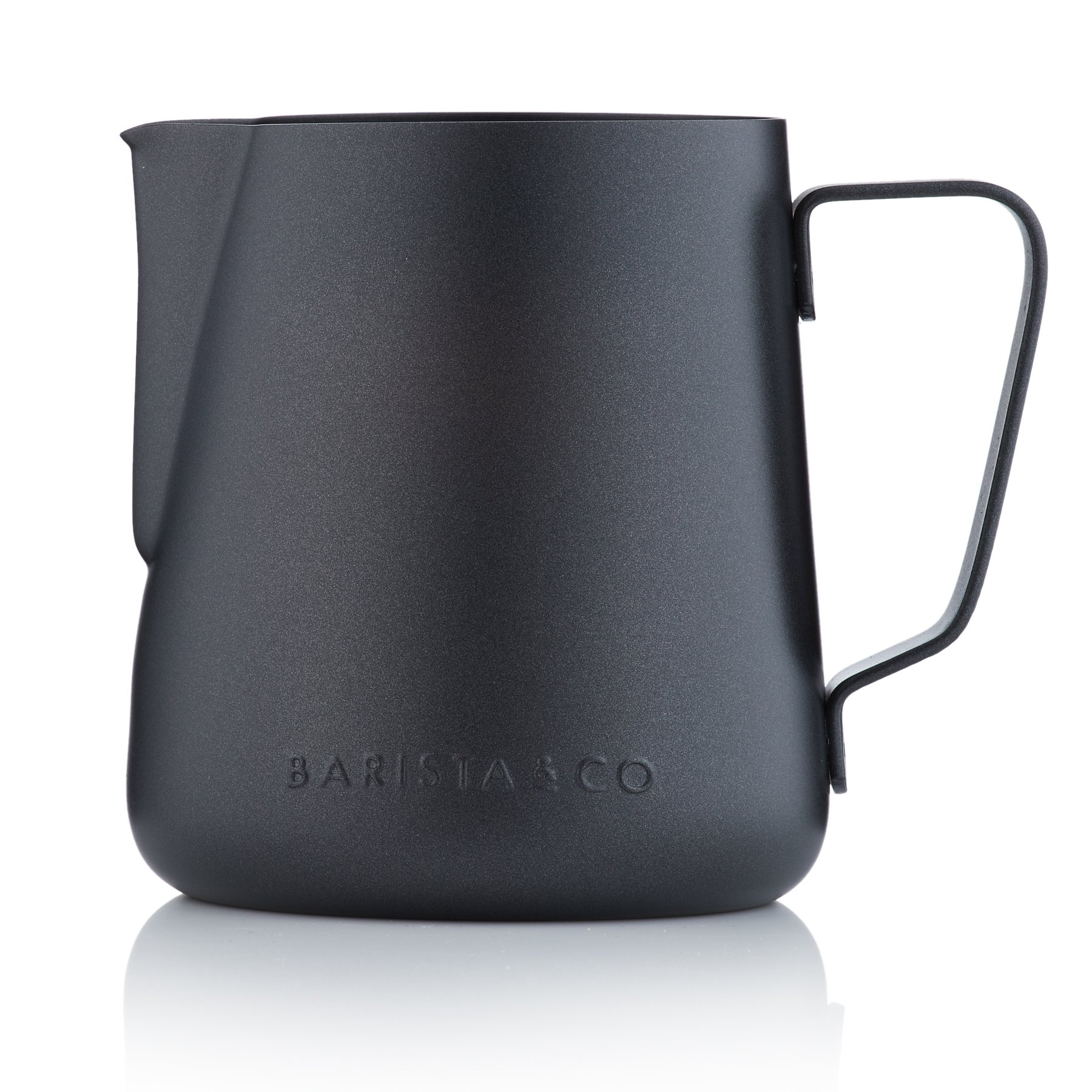 Barista & Co. Core Milk Jug Black Non-stick BC/B263