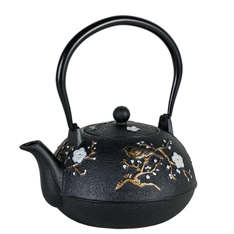 Avanti Cherry Blossom Cast Iron Teapot sh/15197