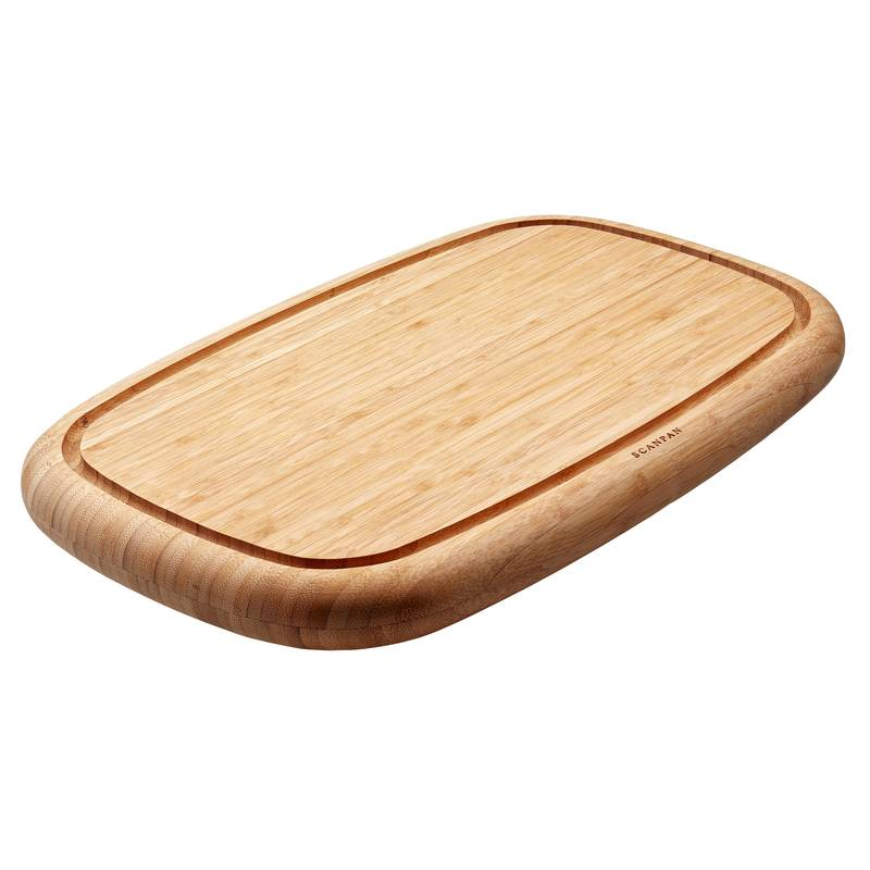 Scanpan Bamboo Chopping Board with Groove 50x30x4cm