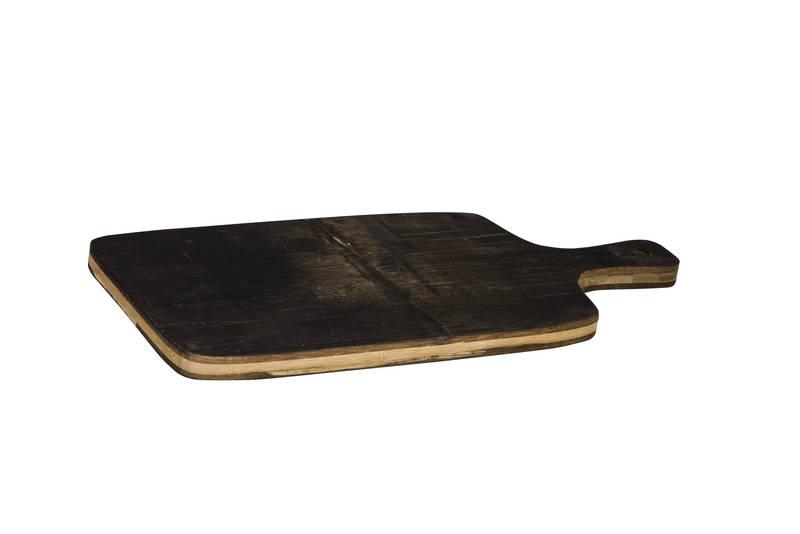 Peer Sorensen Black Bamboo Paddle Serving Board SH/74352