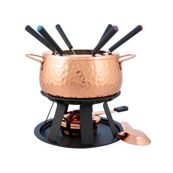 Swissmar Biel 11 Piece Copper Fondue Set