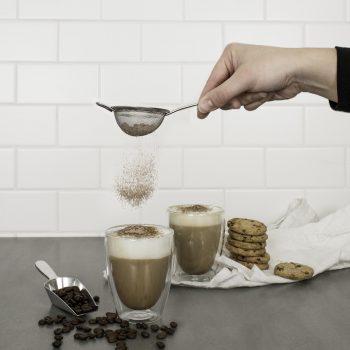 Avanti Caffe Twin Wall Glass Set of 2