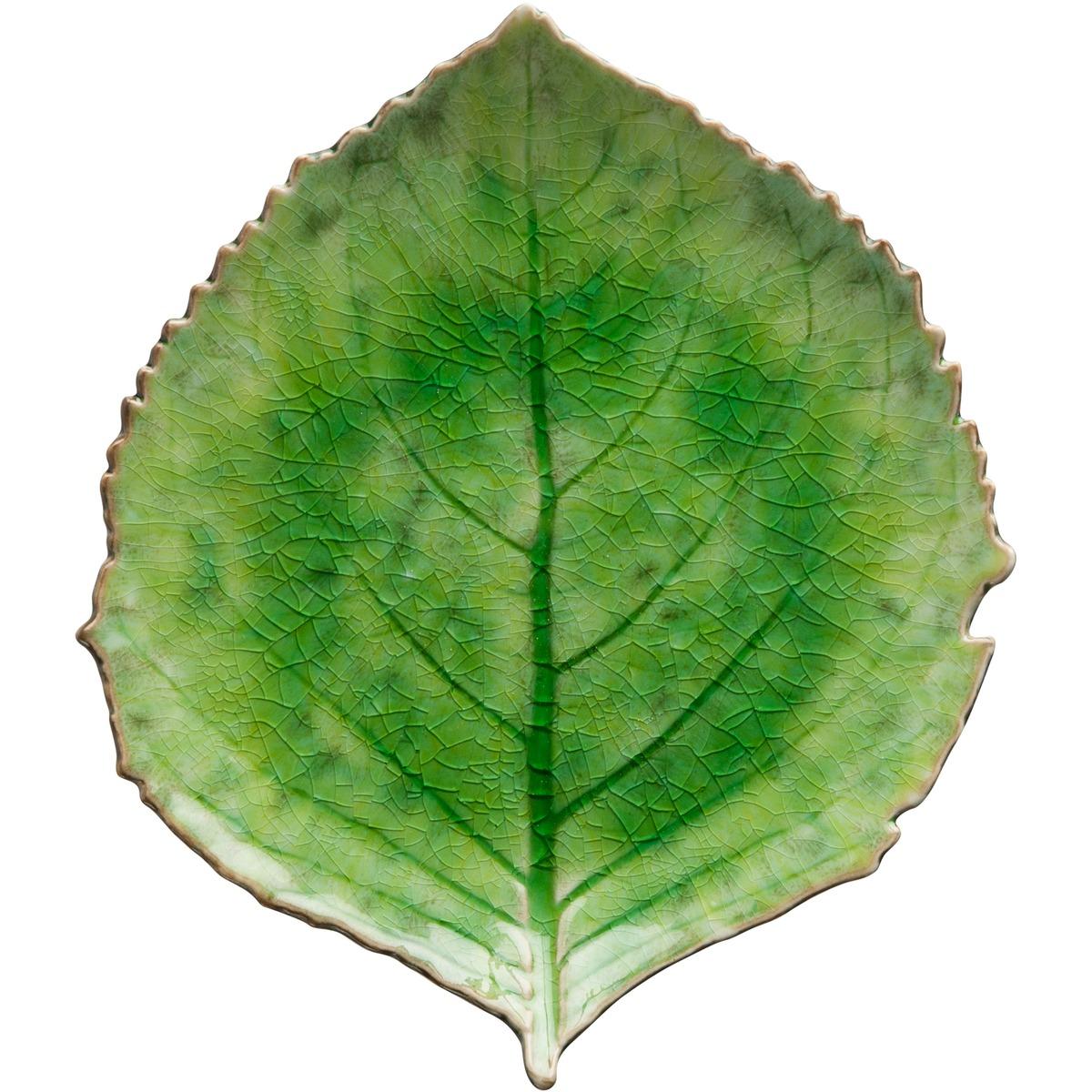 costa nova leaf plate 22cm