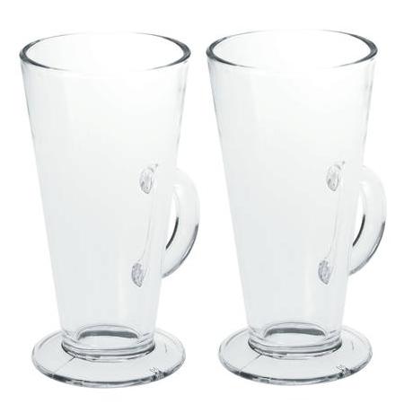 Avanti Latte Glass 240ml Set of 2