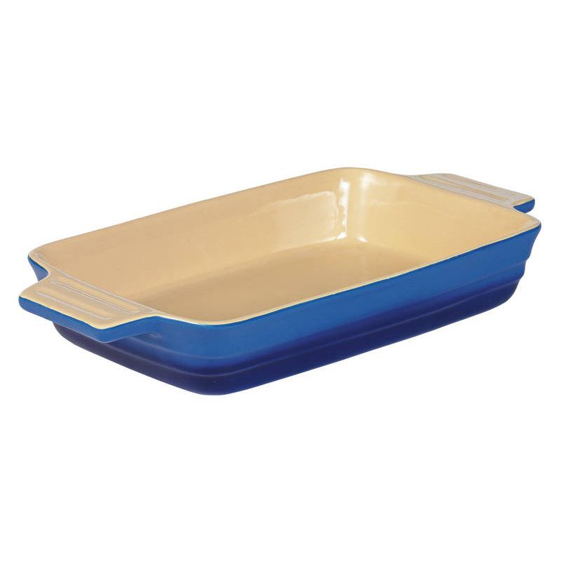 Chasseur La Cuisson Blue Rectangular Baker