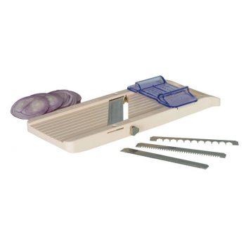 79905 Benriner No.3 Super Vegetable Slicer 95mm (Thickness 0.3mm) with 5mm Interchange Blades