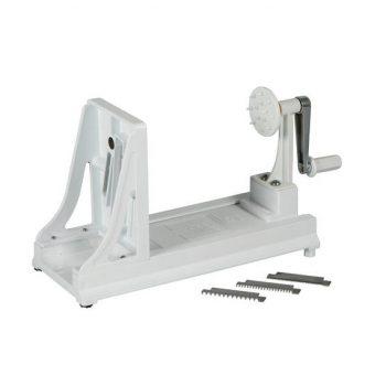 79924 Benriner Horizontal Turning Slicer (Thickness 1mm - 4mm) with Interchange blades - White