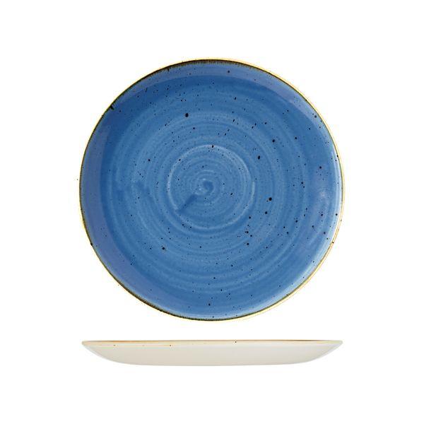stonecast cornflower blue coupe plate range