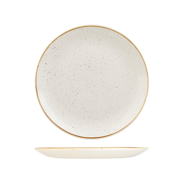 churchill bstonecate coupe plate barley white