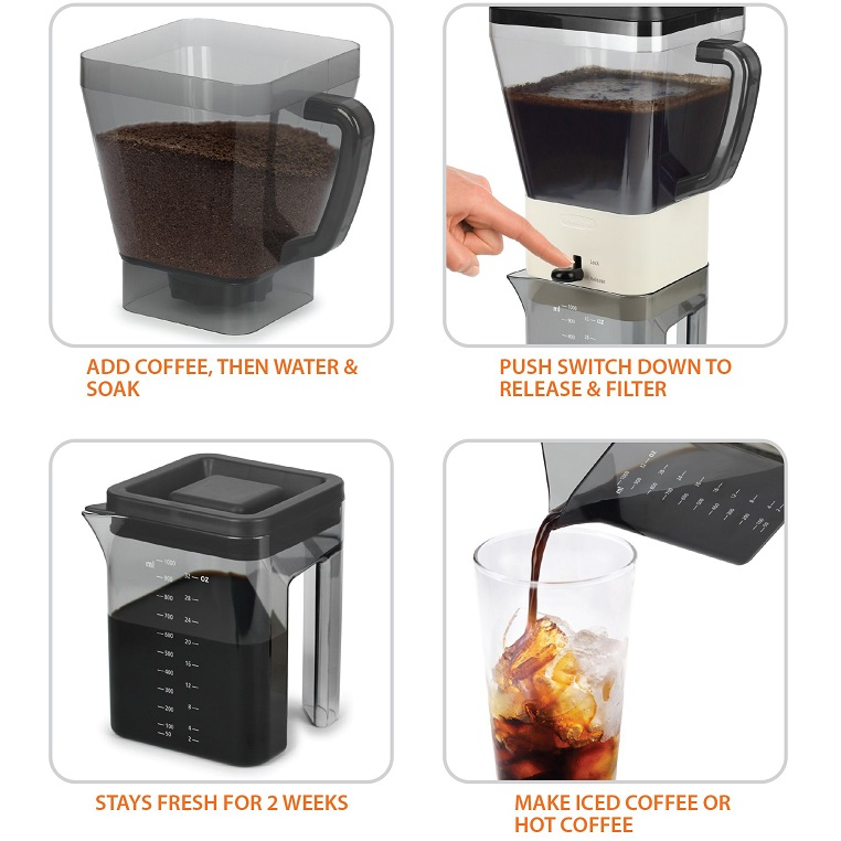 Barista Cold Brew Coffee Maker | Chef's Complements