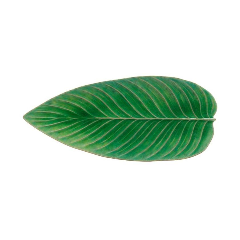 costa nova leaf plate