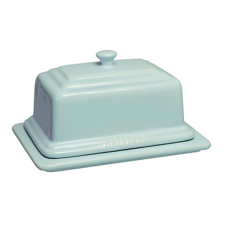 Chasseur La Cuisson Duck Egg Blue Butter Dish