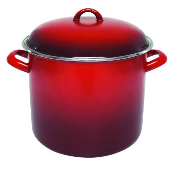 Chasseur Enamel on Steel Red Stockpot