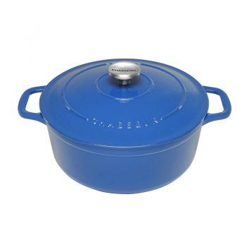 Chasseur Cast Iron French Oven Round 26cm Sky Blue 19315