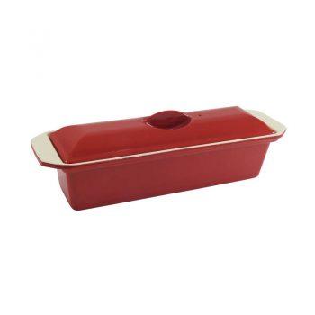 29cm Terrine Federation Red 19686