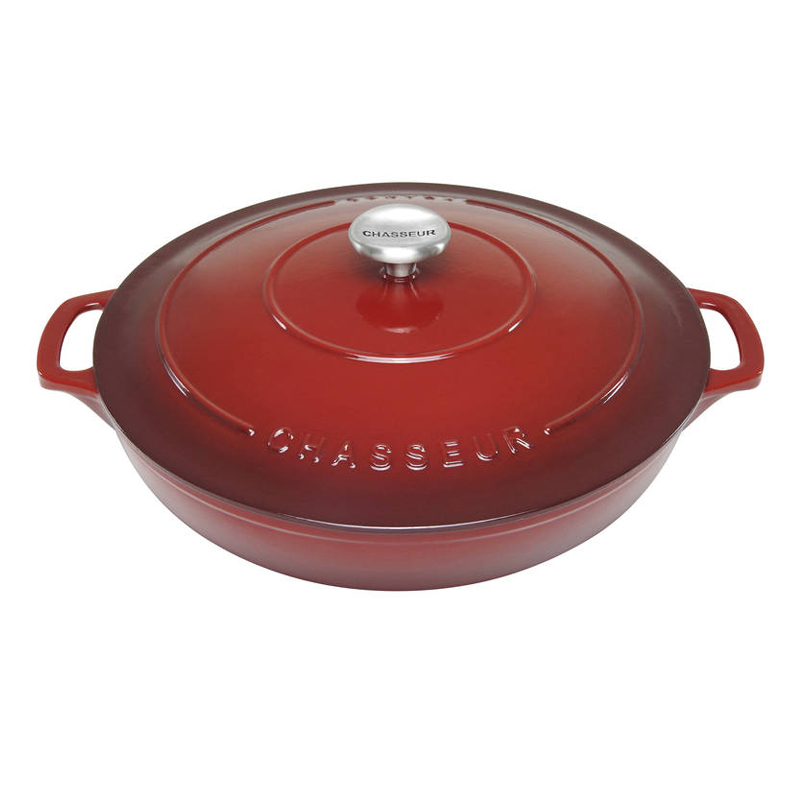Chasseur Cast Iron French Oven 30 cm Low Round