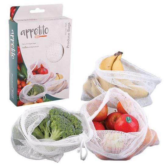 Woven Net Produce Bags