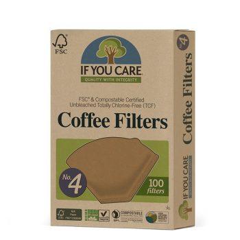 ifc cofffe filter paper no.4