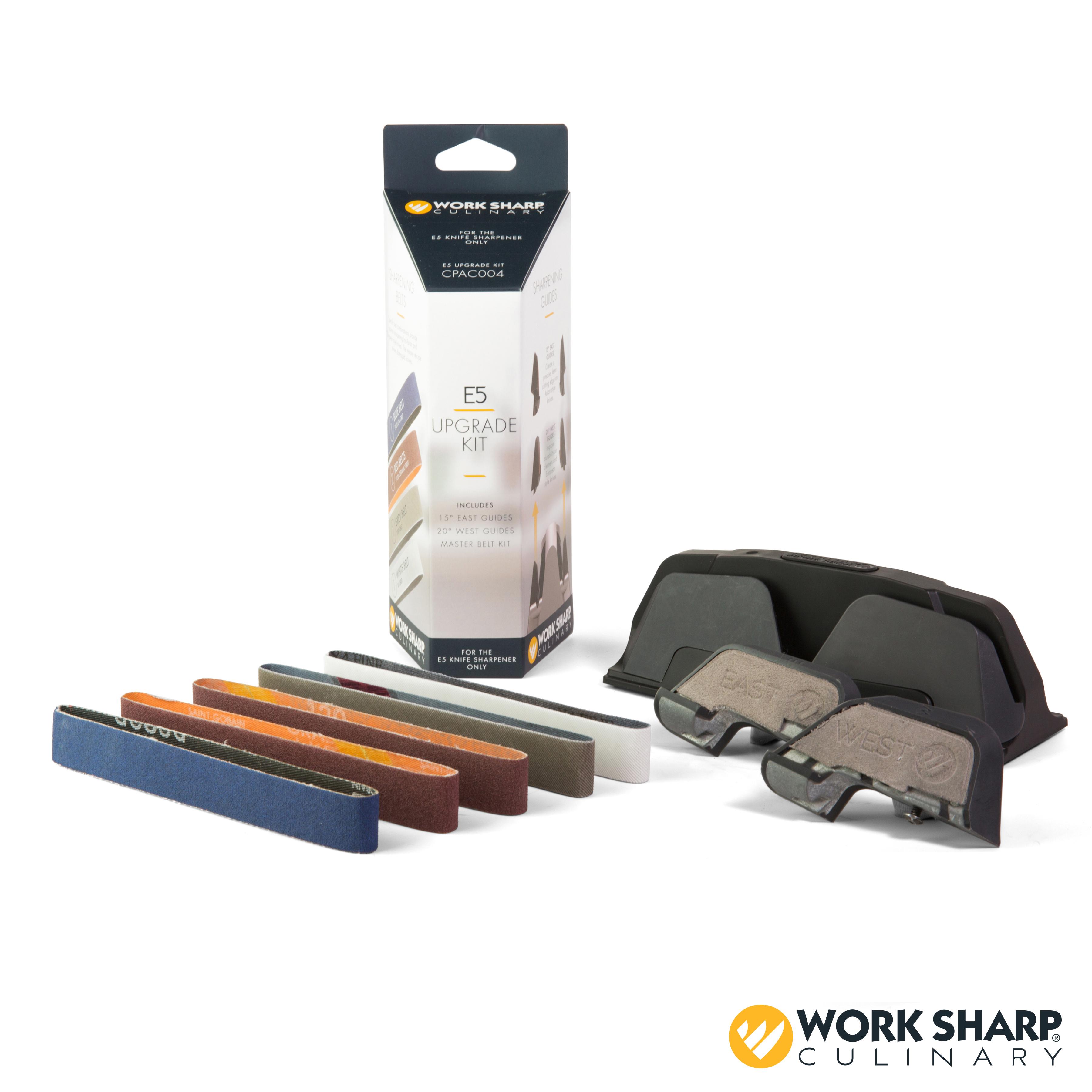 Work Sharp Culinary E5 Electric Kitchen Knife Sharpener Upgrade Kit