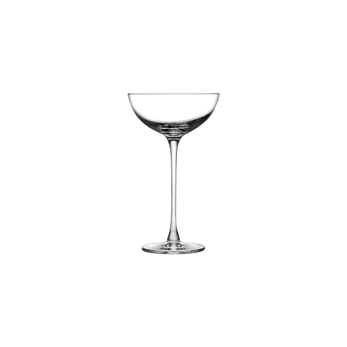 NUDE hepburn coupe glass