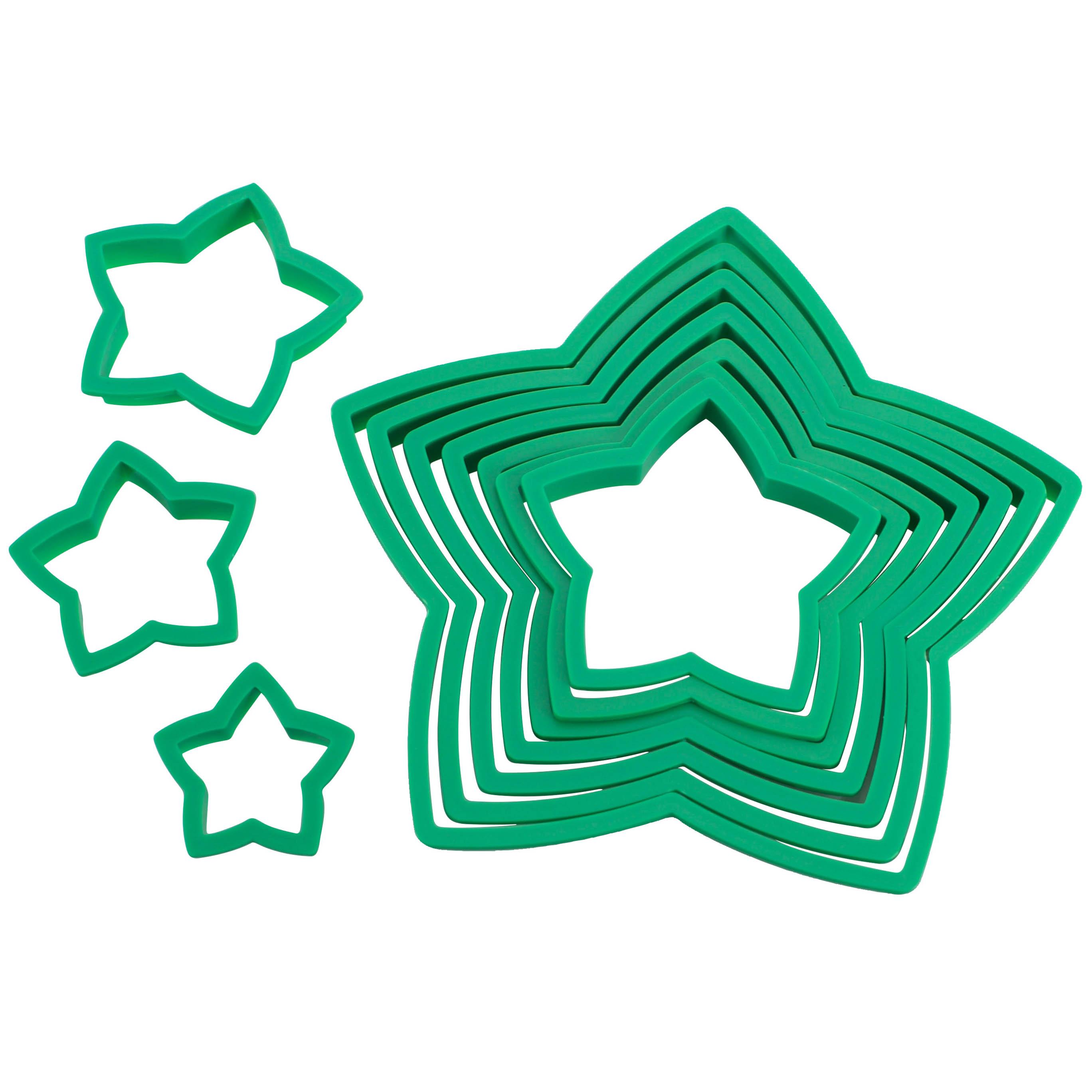 Avanti Star Christmas Tree Cookie Cutter Set