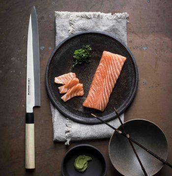 Bunmei Yanagi Sashimi Knife 21cm