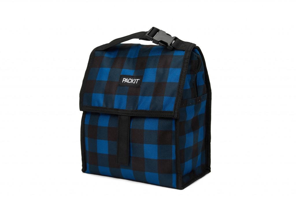72004 - Freezable Lunch Bag - Navy Buffalo HR