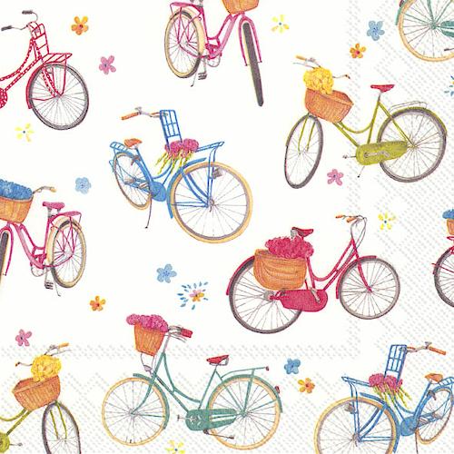 L807500 IHR Lunch Napkin Bicycle