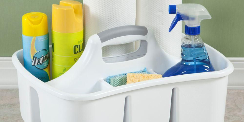 Cleaning Caddies & Spray Bottles   Heading Image   Product Category
